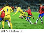 Купить «Футбол», фото № 1569218, снято 26 марта 2008 г. (c) Иван Нестеров / Фотобанк Лори