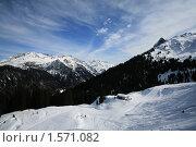 Австрийский горнолыжный курорт (2010 год). Стоковое фото, фотограф Иванов Юрий / Фотобанк Лори