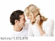 Купить «Влюбленная  пара», фото № 1572870, снято 28 февраля 2010 г. (c) Raev Denis / Фотобанк Лори