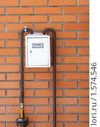 Купить «Газовый счетчик», фото № 1574546, снято 8 марта 2010 г. (c) Константин Покровский / Фотобанк Лори