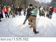 Купить «Бой на масленице», фото № 1575102, снято 9 марта 2008 г. (c) Николай Богоявленский / Фотобанк Лори