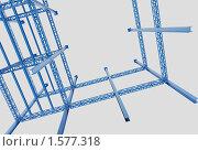 Купить «Металлоконструкции», иллюстрация № 1577318 (c) Андрей Соколов / Фотобанк Лори