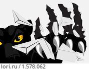 Пантера. Стоковая иллюстрация, иллюстратор Игорь Бахтин / Фотобанк Лори