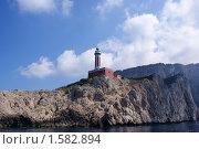 Маяк, Капри, Италия. Стоковое фото, фотограф Stanislav Kharchevskyi / Фотобанк Лори