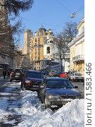 Москва центр зимой (2010 год). Редакционное фото, фотограф Сергей Валентинович Анчуков / Фотобанк Лори