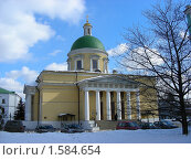 Купить «Москва. Свято-Данилов монастырь», эксклюзивное фото № 1584654, снято 17 марта 2010 г. (c) lana1501 / Фотобанк Лори