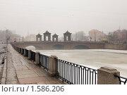 Купить «Старо-Калинкин мост. Санкт-Петербург», эксклюзивное фото № 1586206, снято 27 марта 2010 г. (c) Александр Алексеев / Фотобанк Лори