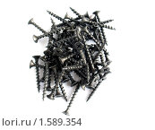 Черные шурупы - саморезы. Стоковое фото, фотограф Александр Масалев / Фотобанк Лори