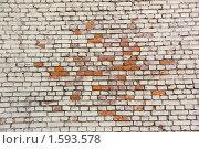 Купить «Фон. Кирпичная стена», фото № 1593578, снято 28 марта 2010 г. (c) Илюхина Наталья / Фотобанк Лори