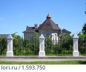 Красивый особняк г.Тобольск. Стоковое фото, фотограф Виктор Простакишин / Фотобанк Лори