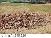 Купить «Археологические раскопки на Тамани», фото № 1595526, снято 17 августа 2009 г. (c) Анна Мартынова / Фотобанк Лори