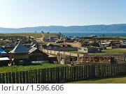 Купить «Посёлок Хужир», фото № 1596606, снято 28 августа 2009 г. (c) Борис Иванов / Фотобанк Лори