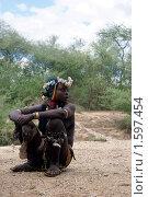 Девушка-эфиопка (2009 год). Редакционное фото, фотограф Михаил Копылов / Фотобанк Лори