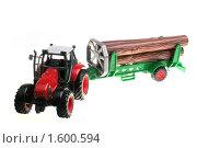 Купить «Красный игрушечный трактор», фото № 1600594, снято 24 марта 2010 г. (c) Потапов Денис / Фотобанк Лори