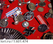 Купить «Награды», фото № 1601474, снято 11 сентября 2006 г. (c) Марина Чиркова / Фотобанк Лори