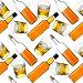 Бесшовный фон из бутылок и стаканов с виски, фото № 1602406, снято 9 декабря 2016 г. (c) Роман Сигаев / Фотобанк Лори