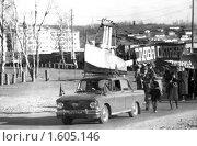 Купить «Демонстрация 7 ноября 1987г в п. Новоорловский Читинской области», фото № 1605146, снято 30 марта 2020 г. (c) Валерий Лаврушин / Фотобанк Лори