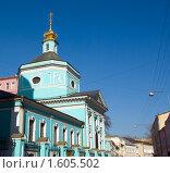 Купить «Церковь Троицы в Серебряниках в Москве», фото № 1605502, снято 3 апреля 2010 г. (c) Андрей Некрасов / Фотобанк Лори
