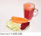 Купить «Овощной сок», фото № 1608346, снято 5 апреля 2010 г. (c) Макарова Елена / Фотобанк Лори