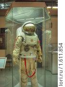 Купить «Костюм космонавта для выхода в открытый космос», фото № 1611854, снято 27 марта 2010 г. (c) Вадим Закревский / Фотобанк Лори
