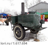 Солдатская,походная печка кашеварка (2010 год). Редакционное фото, фотограф Багира / Фотобанк Лори