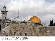 Купол Скала, Иерусалим, Израиль (2009 год). Стоковое фото, фотограф Татьяна Ежова / Фотобанк Лори