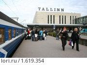 Таллин Вокзал (2009 год). Редакционное фото, фотограф Дмитрий Кожевников / Фотобанк Лори