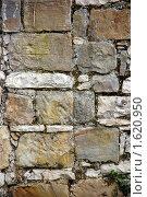 Купить «Фрагмент каменной кладки», фото № 1620950, снято 4 апреля 2010 г. (c) Анна Мартынова / Фотобанк Лори