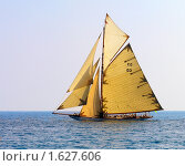 Парусная яхта. Стоковое фото, фотограф Олег Фафурин / Фотобанк Лори