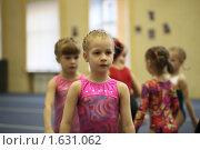 Купить «Юная гимнастка», фото № 1631062, снято 14 апреля 2010 г. (c) Мишурова Виктория / Фотобанк Лори