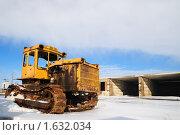 Купить «Старый трактор», фото № 1632034, снято 31 января 2010 г. (c) Арестов Андрей Павлович / Фотобанк Лори