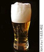 Бокал пива. Стоковое фото, фотограф Багира / Фотобанк Лори