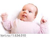 Купить «Ребенок, девочка. Baby», фото № 1634010, снято 11 апреля 2010 г. (c) Василий Вишневский / Фотобанк Лори