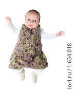 Купить «Ребенок, девочка», фото № 1634018, снято 11 апреля 2010 г. (c) Василий Вишневский / Фотобанк Лори