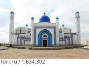 """Мечеть """"Имангали"""" в г.Атырау (Гурьев) Казахстан, фото № 1634302, снято 11 апреля 2010 г. (c) Харкин Вячеслав / Фотобанк Лори"""