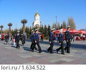 Купить «Матросы гуляют в  Парке Победы на Поклонной Горе. Москва», эксклюзивное фото № 1634522, снято 1 мая 2009 г. (c) lana1501 / Фотобанк Лори
