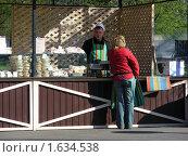Купить «Уличное кафе   в Парке Победы. Москва», эксклюзивное фото № 1634538, снято 1 мая 2009 г. (c) lana1501 / Фотобанк Лори
