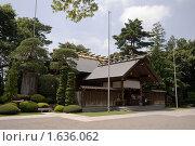 Япония, синтоистский храм в городе Китамото (2008 год). Стоковое фото, фотограф Андрей Солодовников / Фотобанк Лори