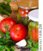 Маринованные овощи. Фон. Стоковое фото, фотограф Kribli-Krabli / Фотобанк Лори