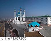 Купить «Мечеть Кул Шариф, Казань», эксклюзивное фото № 1637970, снято 29 апреля 2006 г. (c) Кучкаев Марат / Фотобанк Лори