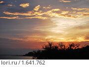 Закат. Стоковое фото, фотограф Татьяна Соколова / Фотобанк Лори