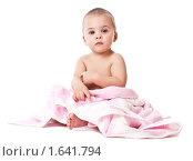 Мальчик в полотенце. Стоковое фото, фотограф Светлана Широкова / Фотобанк Лори