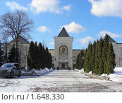 Купить «Москва. Свято-Данилов монастырь», эксклюзивное фото № 1648330, снято 17 марта 2010 г. (c) lana1501 / Фотобанк Лори