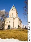 Купить «Церковь-маяк в крепости Свеаборг. Хельсинки. Финляндия», фото № 1656106, снято 10 апреля 2010 г. (c) Румянцева Наталия / Фотобанк Лори