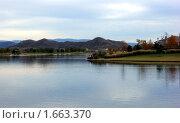 Горная река. Стоковое фото, фотограф Nataliya Sabins / Фотобанк Лори