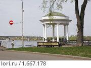 Ярославль, беседка на набережной Волги (2009 год). Стоковое фото, фотограф Петр Бюнау / Фотобанк Лори
