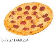 Купить «Аппетитная пицца», фото № 1669234, снято 28 февраля 2010 г. (c) Александр Подшивалов / Фотобанк Лори
