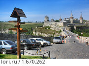 Купить «Замок в Каменце-Подольском, жемчужина Украины», фото № 1670262, снято 29 июля 2009 г. (c) Aleksander Kaasik / Фотобанк Лори