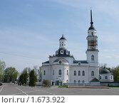 Купить «Воскресенский собор г. Почеп», фото № 1673922, снято 3 мая 2010 г. (c) Александр Шилин / Фотобанк Лори