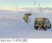 Купить «Дом под снегом», фото № 1674282, снято 14 марта 2008 г. (c) Мирзоянц Андрей / Фотобанк Лори